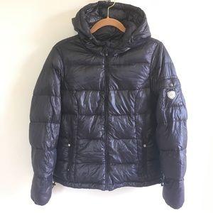 Eddie Bauer Goose Down Hooded Puffer Jacket